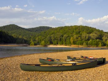 Buffalo river is one of the best beaches in Arkansas