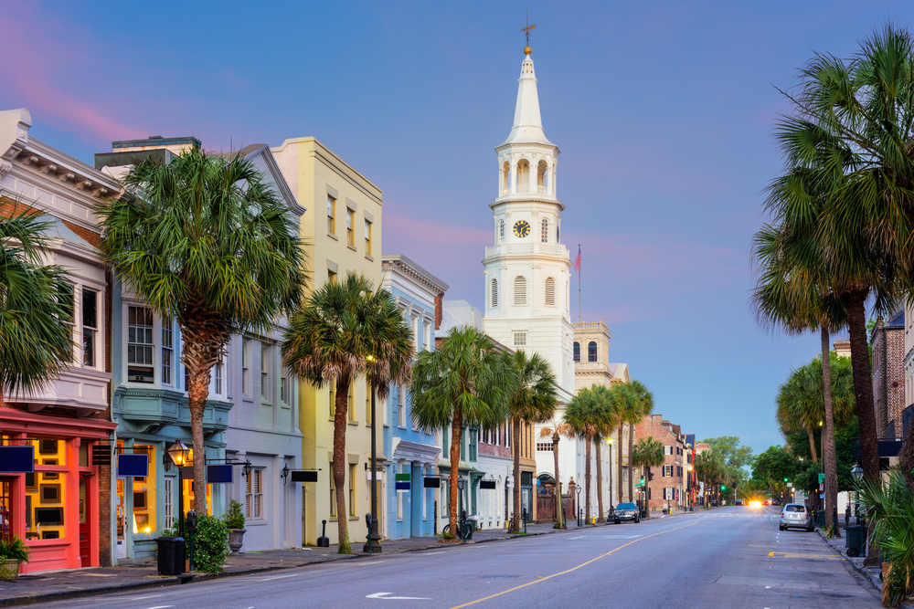 Charleston South Carolina is one of the best weekend getaways in the South