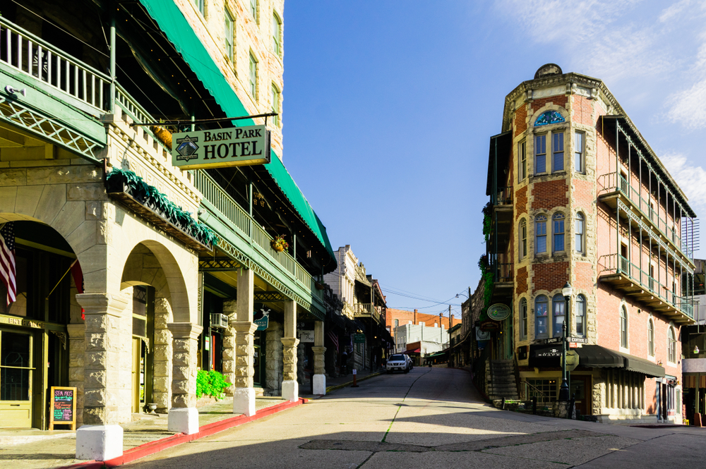 The Eureka Springs downtown is one of the best Arkansas attractions.