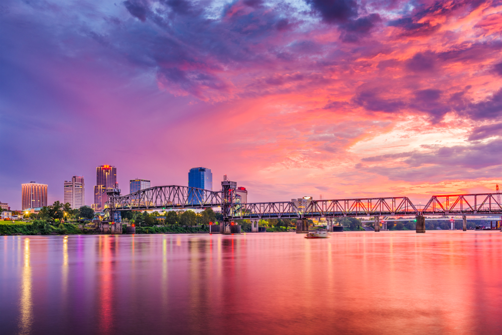 Little Rock is one of the best cities to visit in Arkansas.