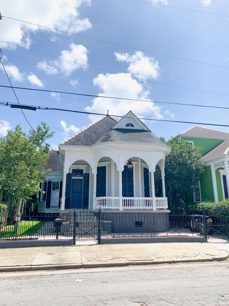House along one of the cutest New Orleans streets