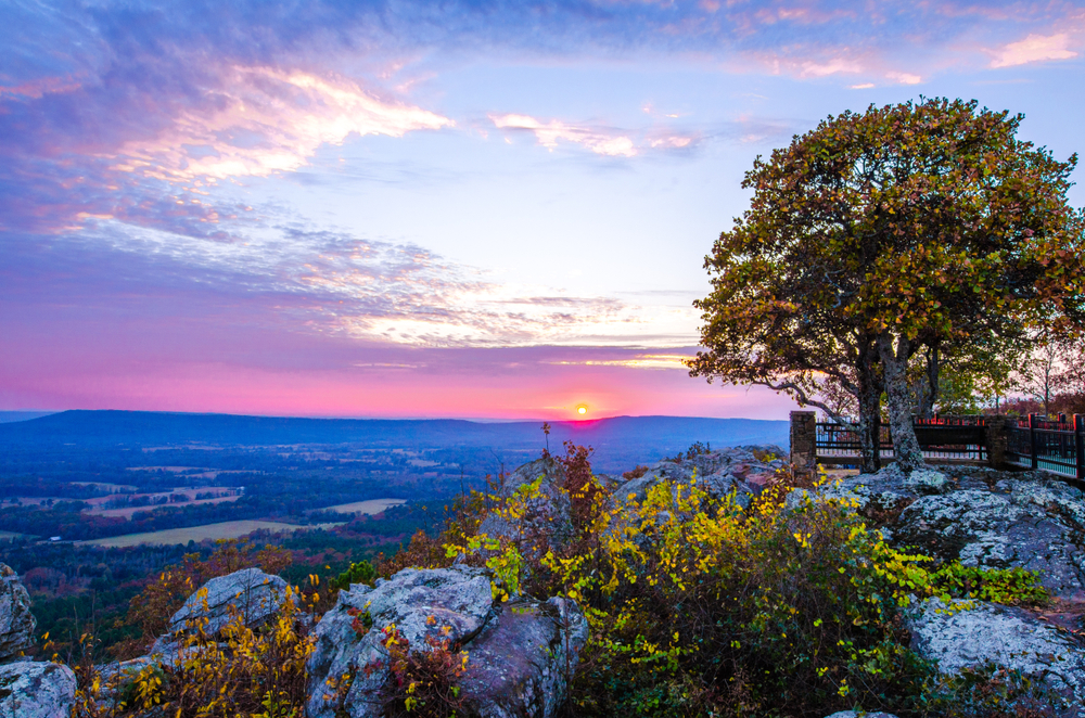 Petit Jean State Park is one of the best places to visit in Arkansas.