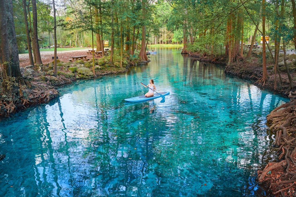 Ginnie Springs is one of the best places to visit in the South.