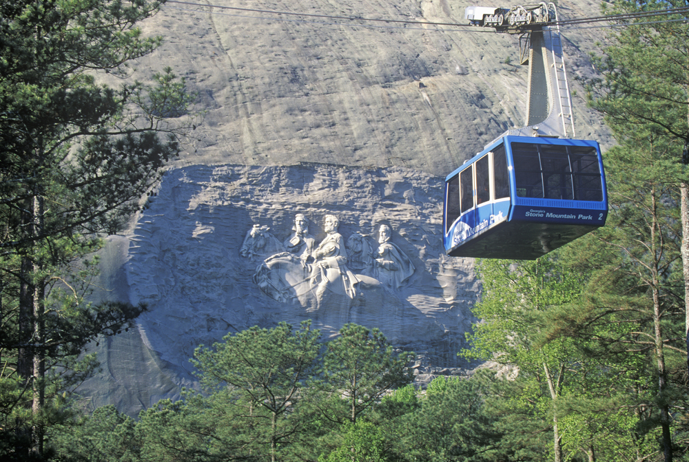 Summit Skyride at Stone Mountain one of the most exciting weekend getaways in Georgia