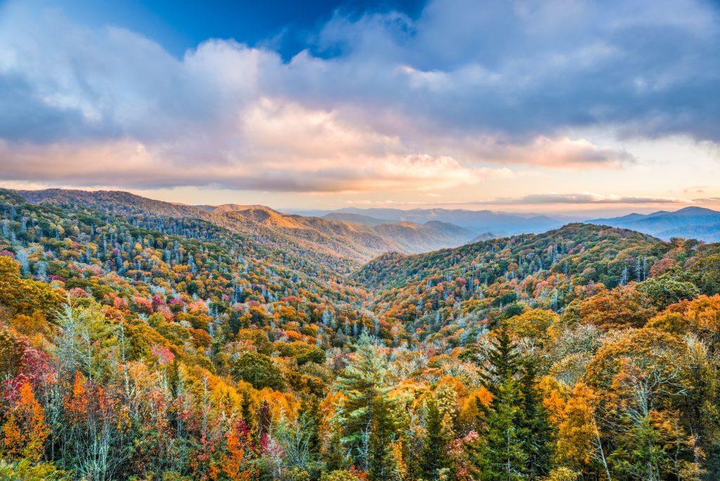 Photo of the Smoky Mountains.