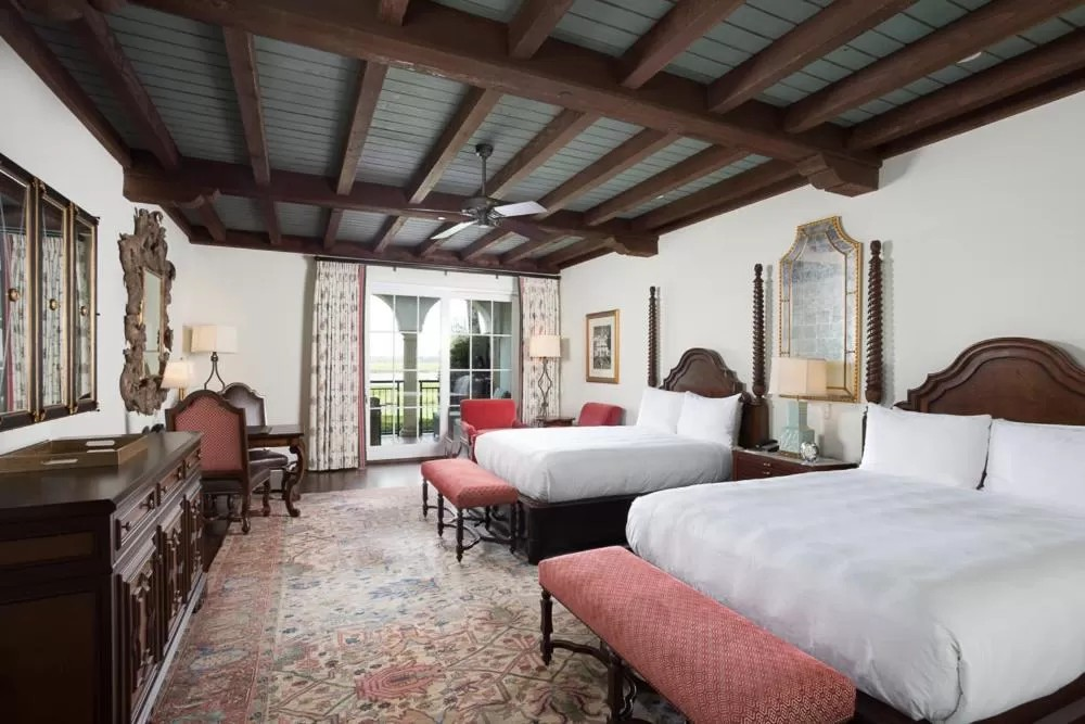 Room at The Cloisters at Sea Island for weekend getaways in Georgia