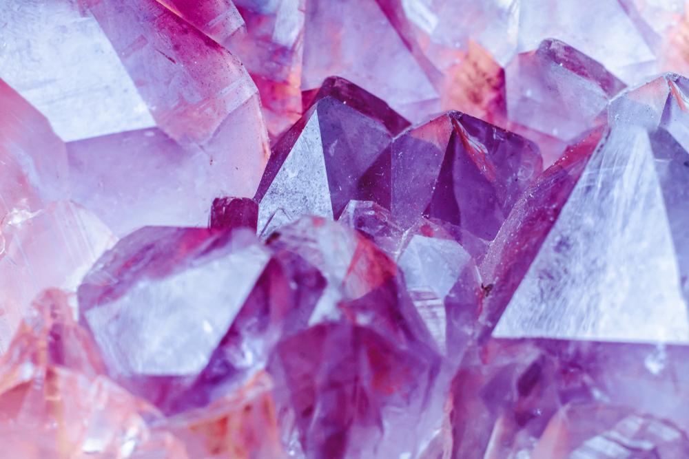 Pretty quartz crystal at Wegner Quartz Crystal Mines.