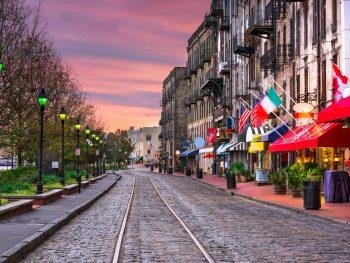 A street in Savannah