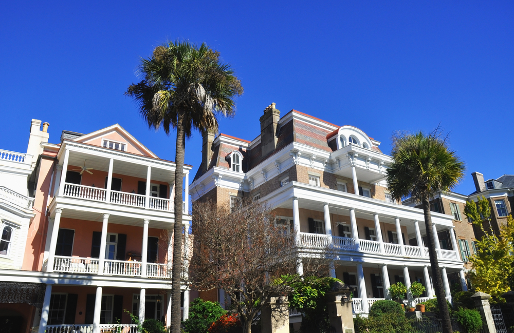 The Battery Carriage House Inn which is said to be haunted on sunny day