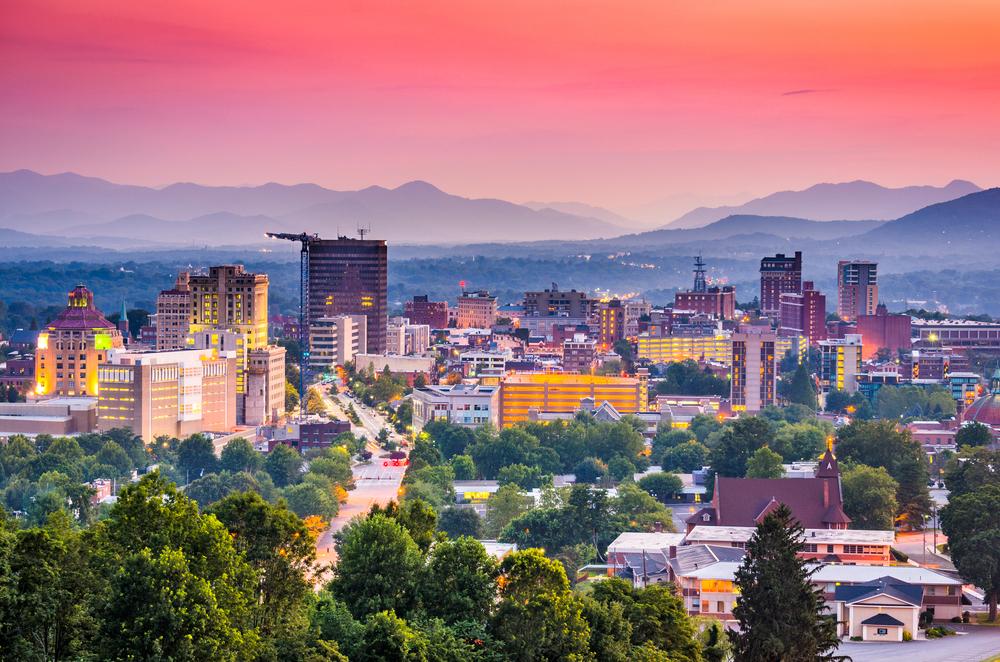 Asheville is one of the amazing North Carolina Blue Ridge towns