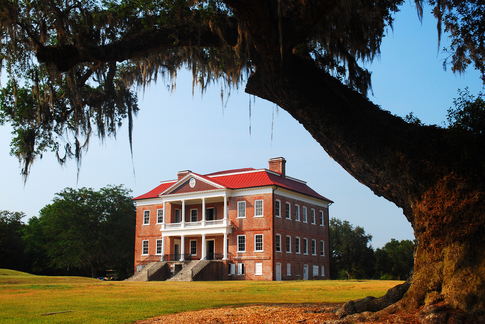 Drayton Hall the only original plantation structure that has survived in that area of South Carolina