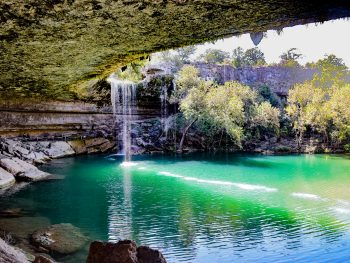 hamilton pool is one of the best hidden gems in the south USA