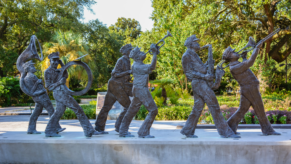the New Orleans Jazz National Historical Park is a celebration of New Orlean's Jazz history
