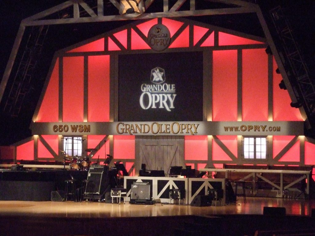 The Grand Ole Opry, a perfect destination on one of the many Southern road trips through Tennessee.