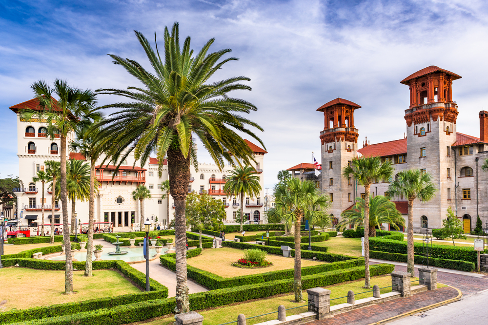 St. Augustine is a quaint town in northern Florida