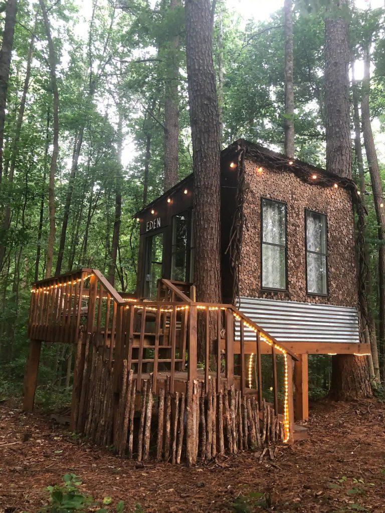 Treehouse in Georgia