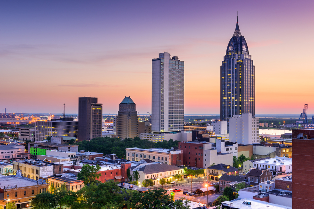 a photo of mobile, one of the best quick getaways in alabama