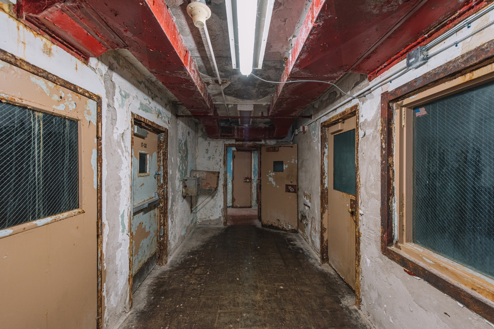 Brushy Mountain State Penitentiary was the site of many murders.
