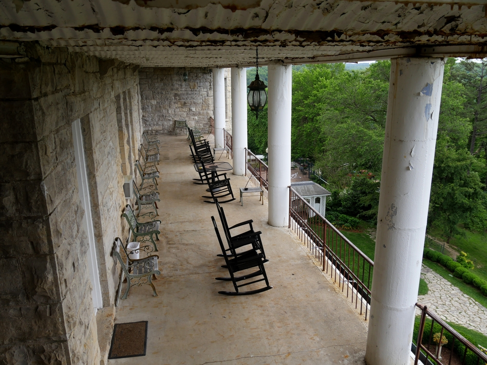 One of the most haunted places in Arkansas is the Crescent Hotel and Sap.
