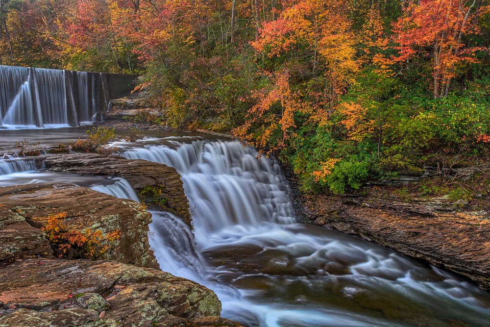 DeSoto State Park is one of the prettiest state parks in Alabama.