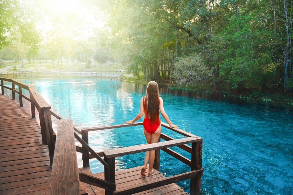 Gilchrist Blue Springs is the souther state park for you if you love your parks on the quieter side