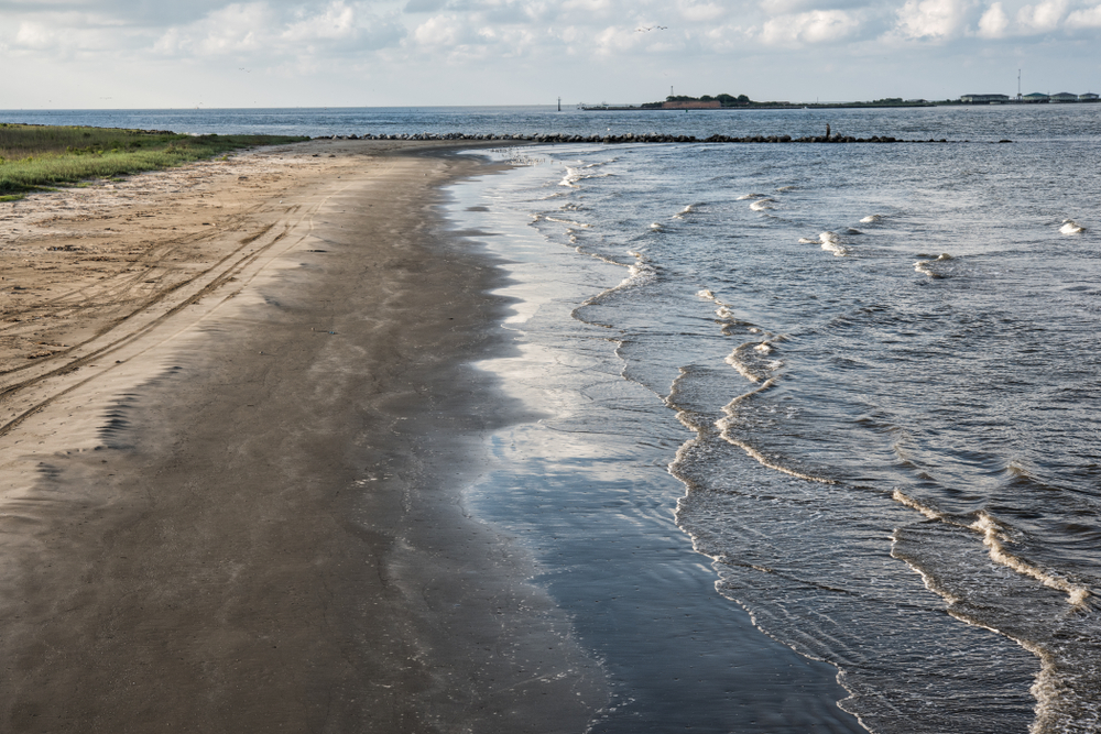 Grand Isle State Park is a great place to camp on a weekend getaway in Louisiana.
