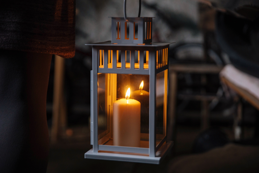 A lantern will lead the way on this Savannah ghost tour.