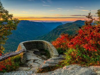 Linville Gorge is one of the best weekend getaways in North Carolina