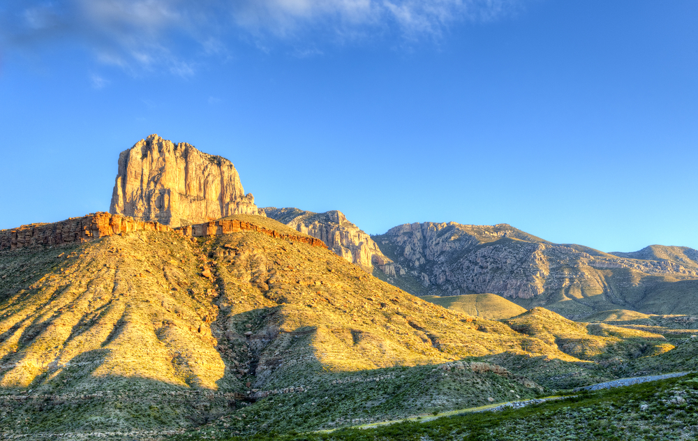 El Capitan Peak in Guadalupe Mountains National Park
