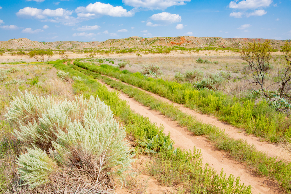 Trails at Lake Meredith National Recreation Area