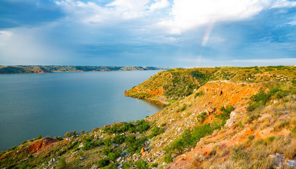 View of Lake Meredith