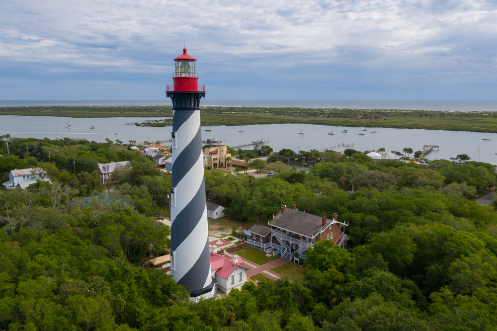 St. Augustine Lighthouse in Florida is pretty...haunted.