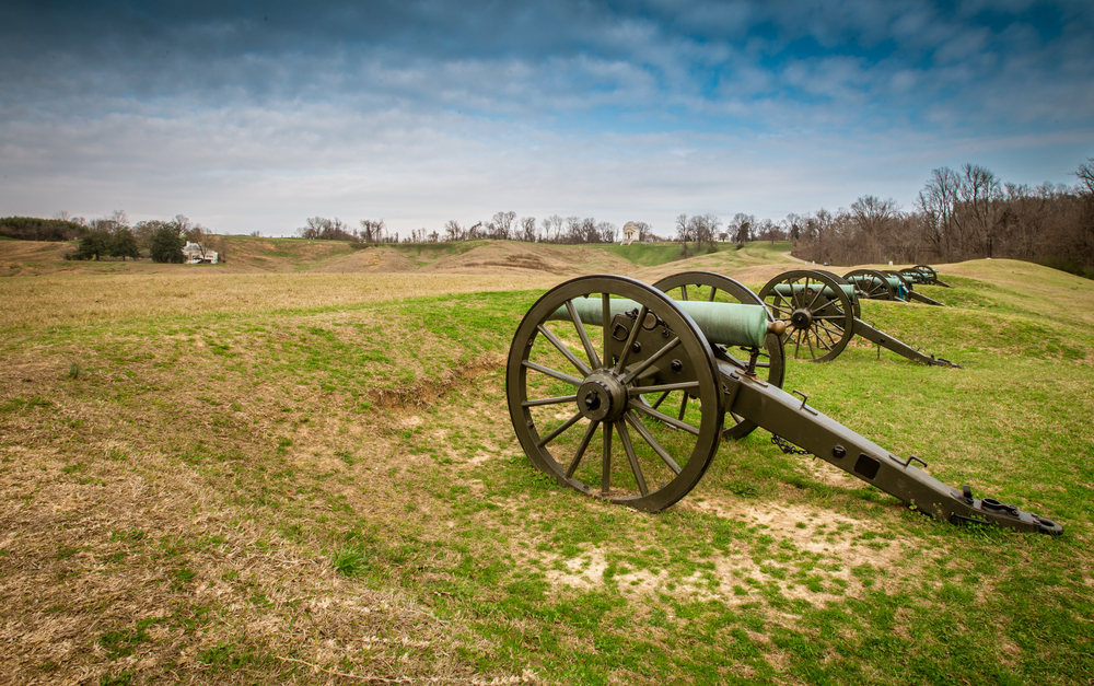 Vicksburg National Military Park is the place to go in the South to find ghosts.