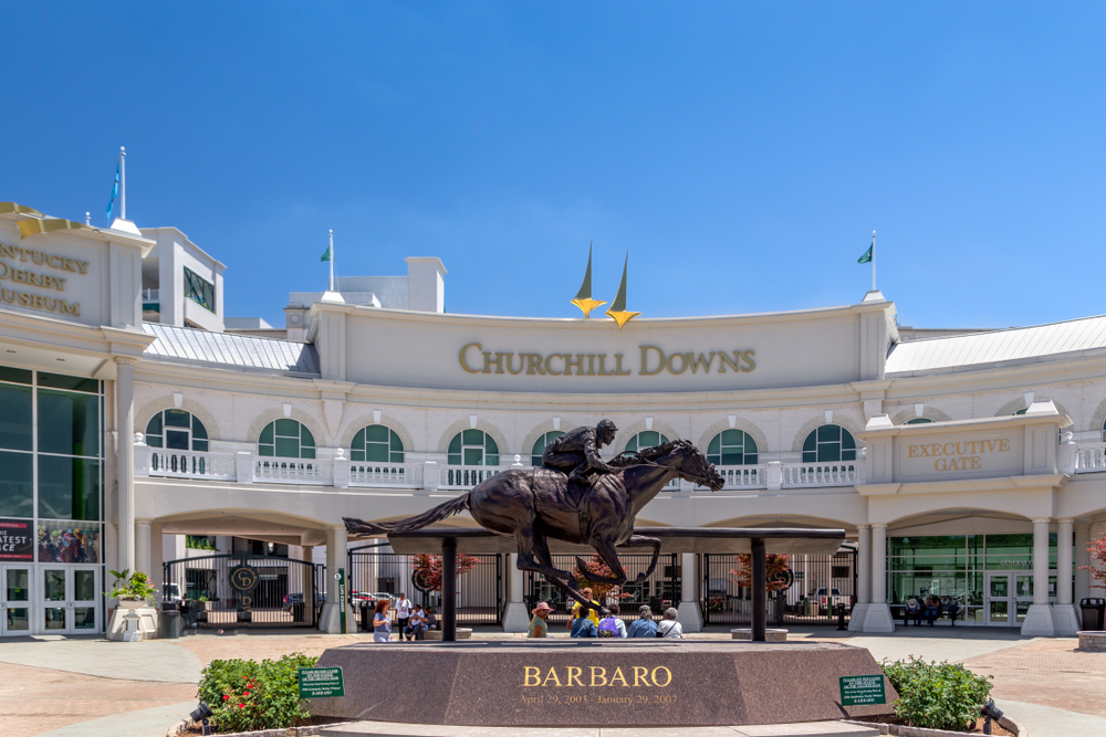 One of the greatest sites in horse racing history, Churchill Downs