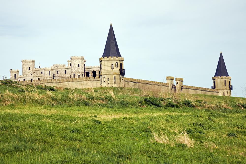 One of the most romantic weekend getaways in Kentucky, the Kentucky Castle