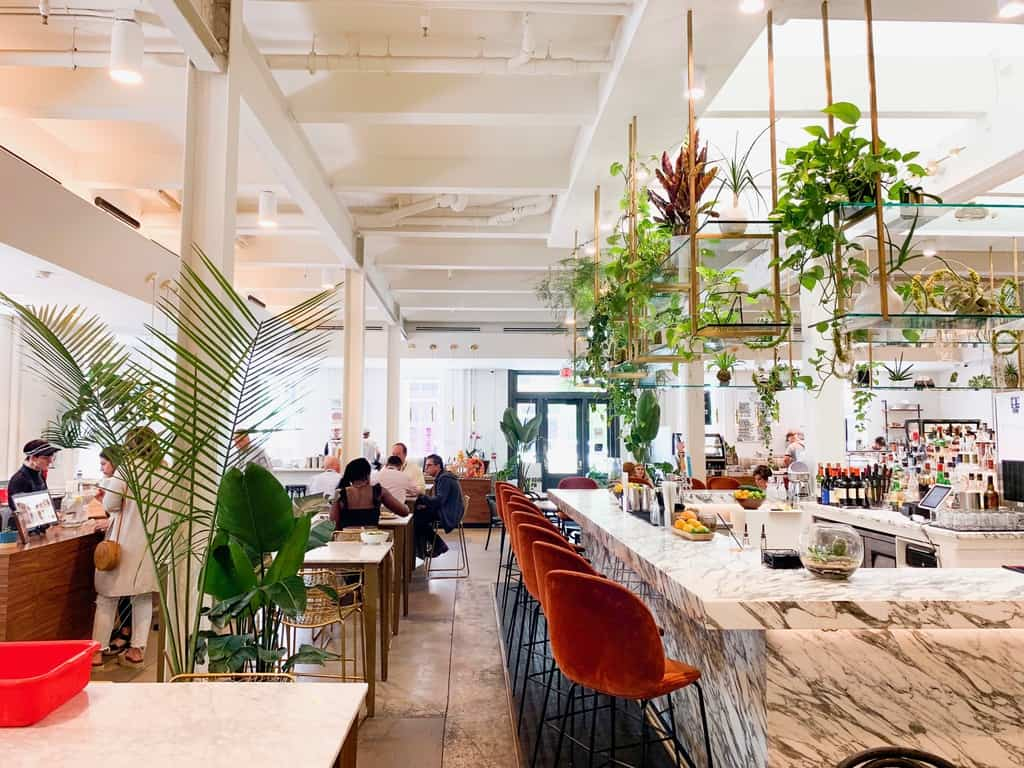 The Auction House Market a bright and airy restaurant that is a perfect place to grab lunch on your New Orleans Bachelorette Party