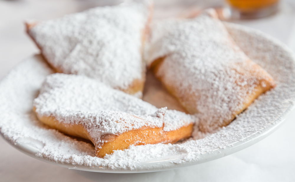 photo of beignets, which can be found at one of the best restaurants in new Orleans