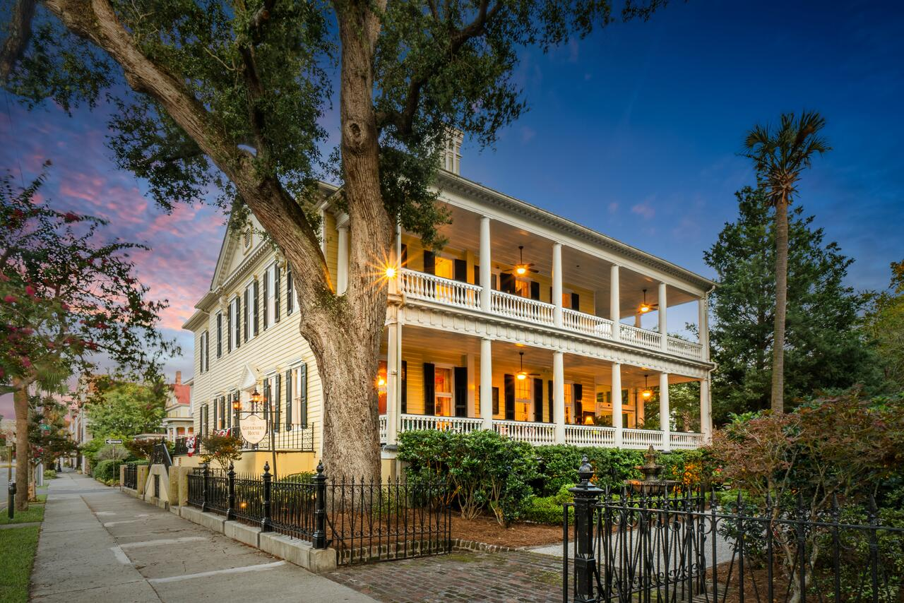 governors house inn is one of the best bed and breakfasts in charleston south carolina