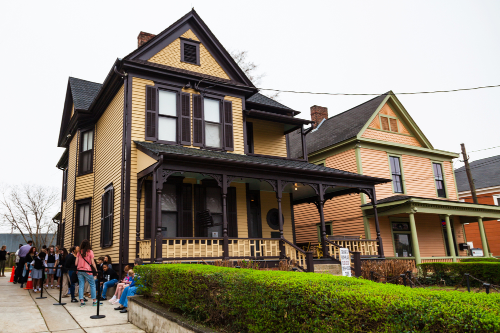 The birthplace of Dr. Martin Luther King Jr one of the most interesting Black history sites of the South