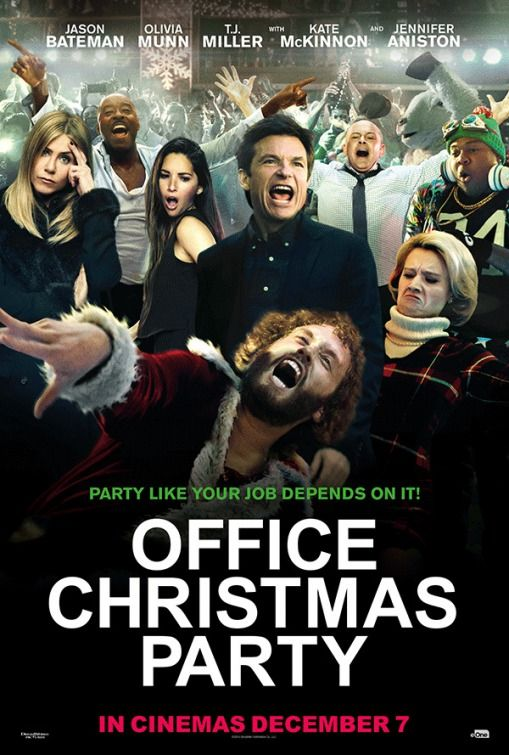 The poster for Office Christmas Party