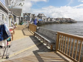 duck is one of the prettiest towns in the outer banks