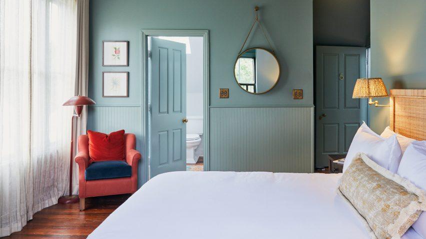 The Post House Inn has a modern take on vintage interior