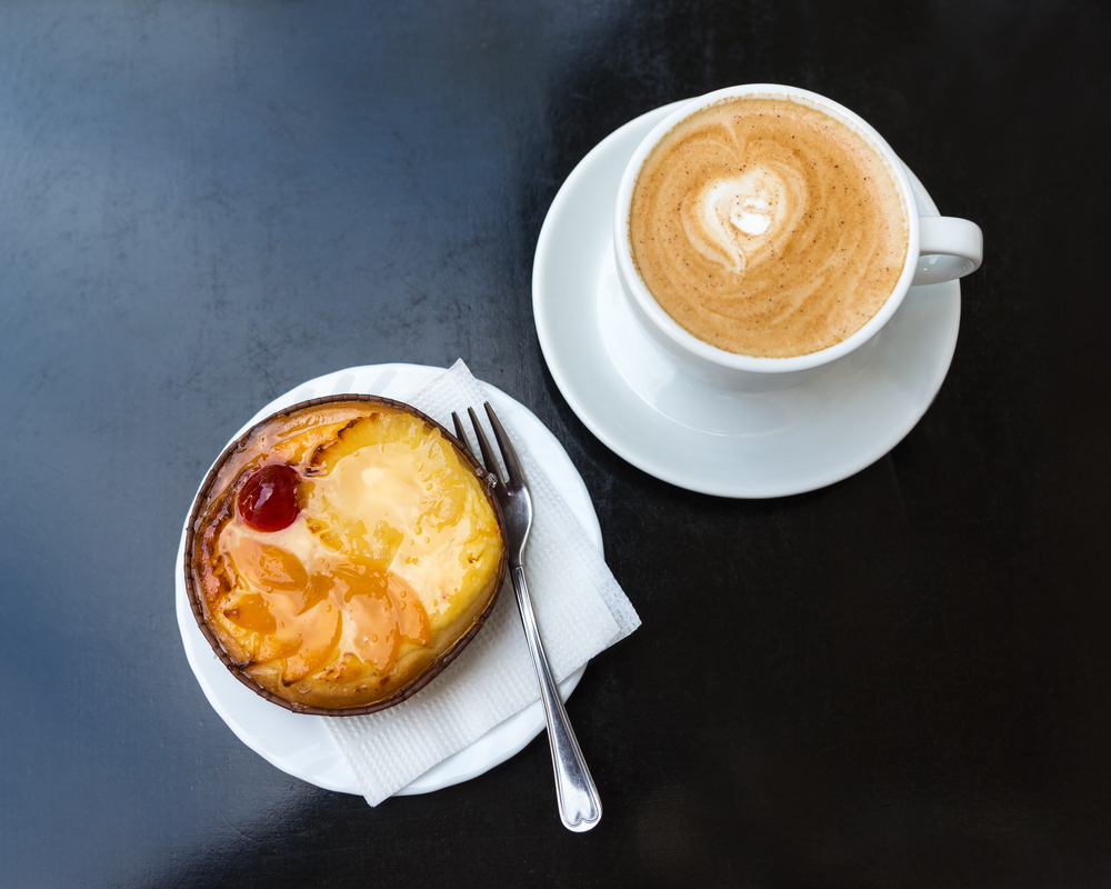 Try a cup of coffee with a pastry at Blends a Coffee boutique
