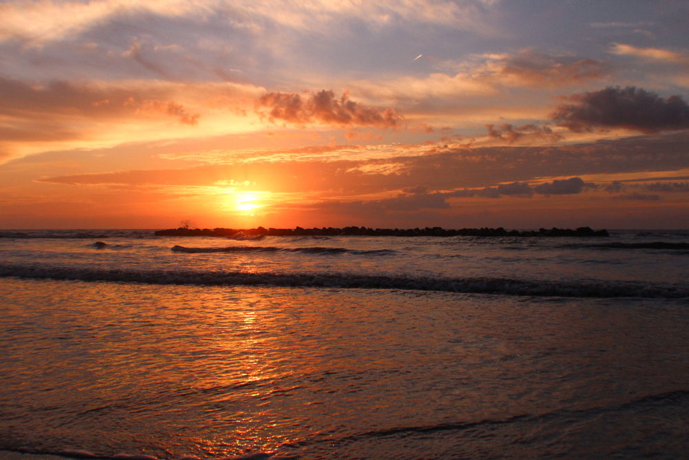 Grand Isle State Park is the perfect place to watch a sunrise