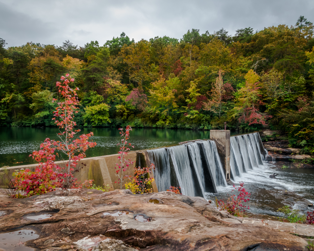 Desoto state park has some of the most beautiful waterfalls that alabama has to offer