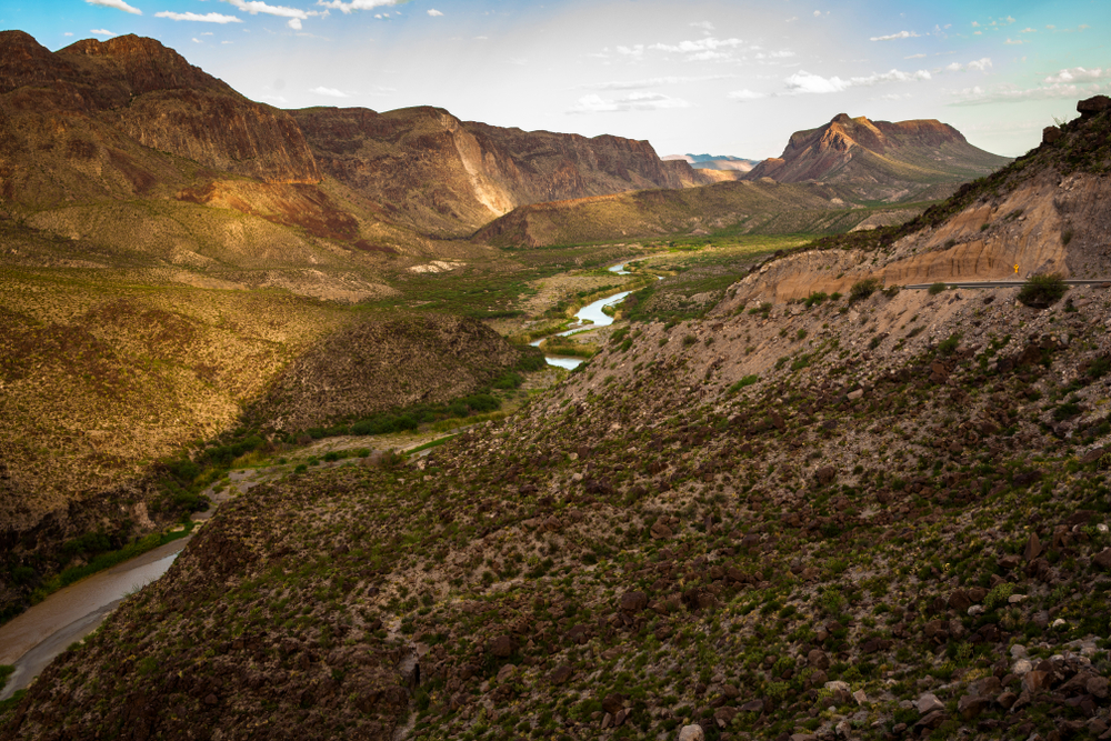 Texas Big Bend Ranch State Park is the best southern state park if you want to catch a view of the night sky