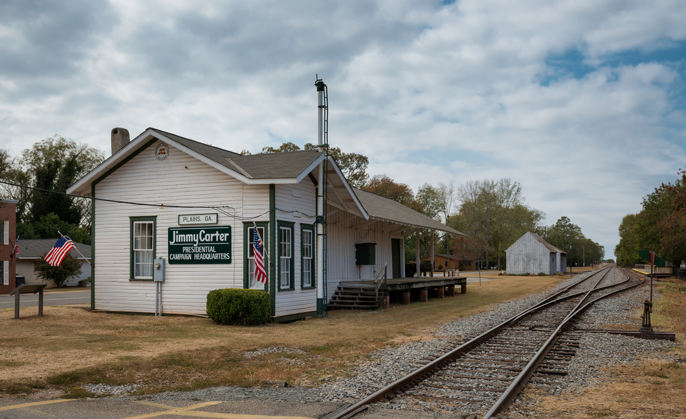 The Train Depot was where jimmy carter planned his presidential campaign