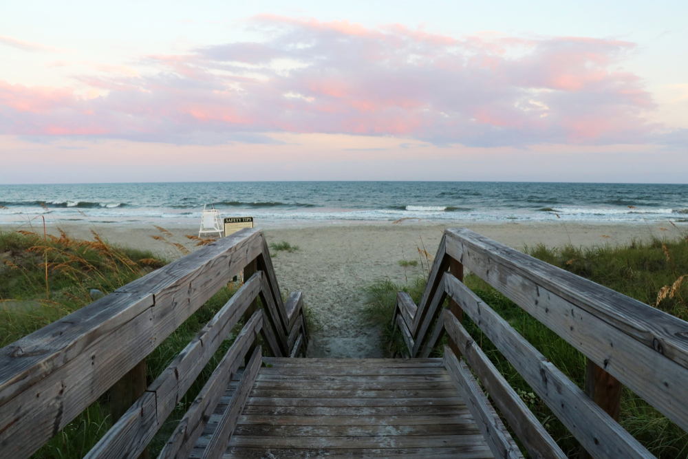 huntington beach state park is the perfect place for surf fishing