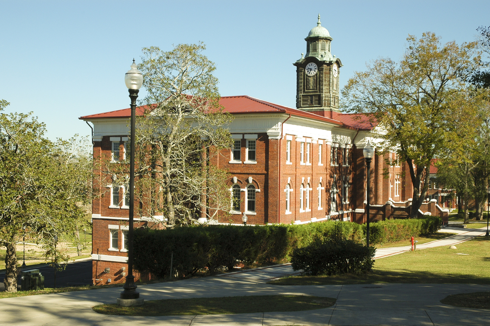The side of the Tuskegee Institute one of the most interesting Black history sites in the South