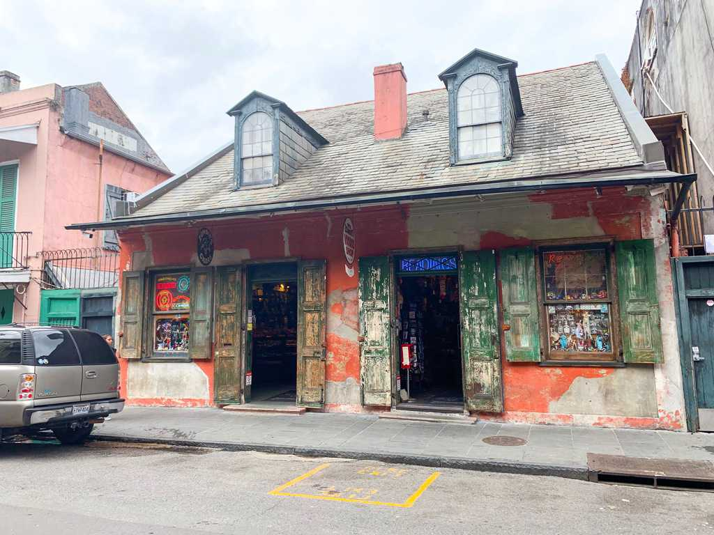 A Voodoo shop in the French Quarter of New Orleans a cool place to check out on a New Orleans Bachelorette Party